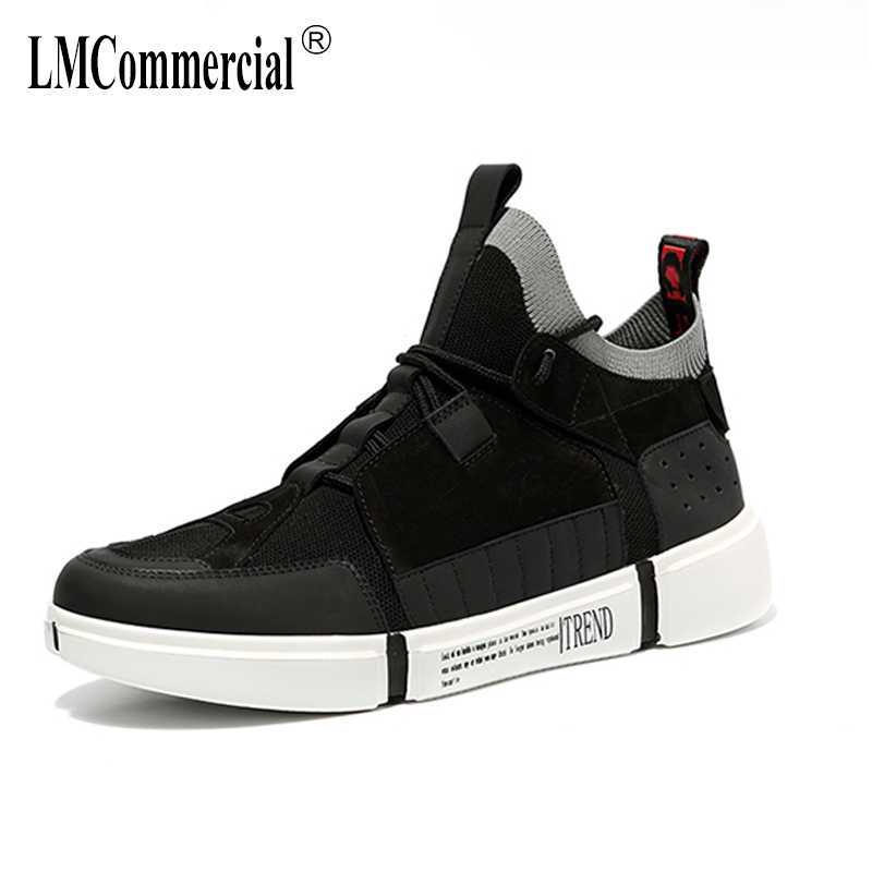 new socks shoes hip-top mesh casual shoes men spring autumn summer all-match cowhide breathable sneaker fashion men casual 2017 fashion red black white men new fashion casual flat sneaker shoes leather breathable men lightweight comfortable ee 20