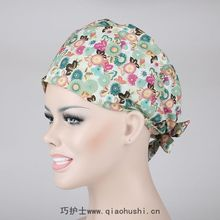 Operation Room Nurse Doctor Cotton Smart Flower Cap Home Furnishing Anesthesiologists Beauty