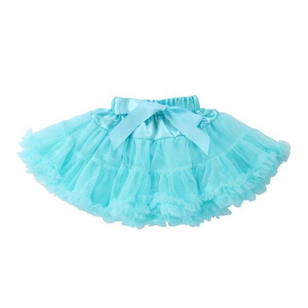 PUDCOCO/Милая юбка-пачка принцессы для маленьких девочек, балетная пышная многослойная юбка-американка из тюля вечерние танцевальные От 0 до 5 лет - Цвет: 6