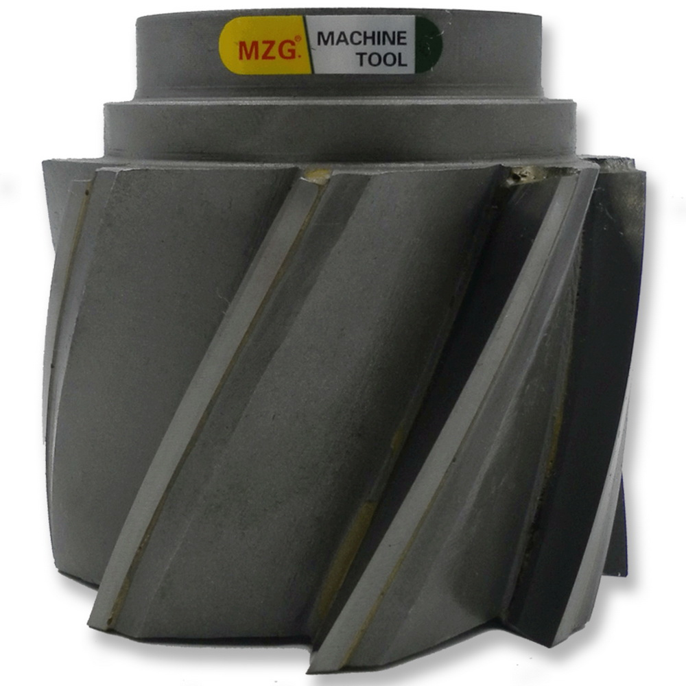 MZG SWT Type Face Milling Cutters Spiral groove welding blade type tungsten steel cylindrical plane side milling cutter