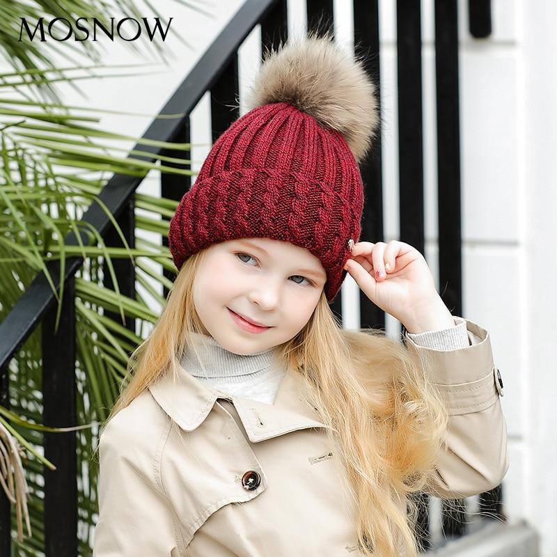 926a05548fd MOSNOW Women s Hats Boy Cap Children 2018 Hot Sale Fashion Brand New Unisex  Winter Knitted Warm Beanie Skullies Bonnet  MZ701C-in Skullies   Beanies  from ...