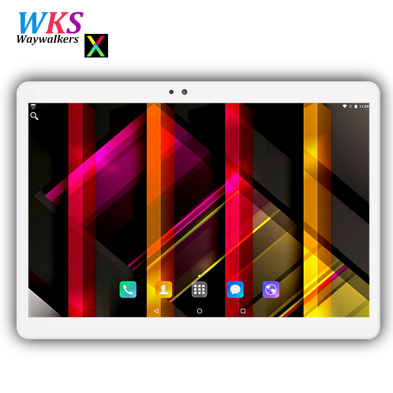 Free shipping 10 inch tablet pc Android 7.0 octa core 4GB+64GB Dual SIM WIFI FM GPS Bluetooth Smart tablets pcs 10 10.1+Gifts lnmbbs 4g lte 10 1 inch tablet pc android 7 0 8 core wifi gps bluetooth smart tablets pcs gifts dhl free shipping 2g 32g color