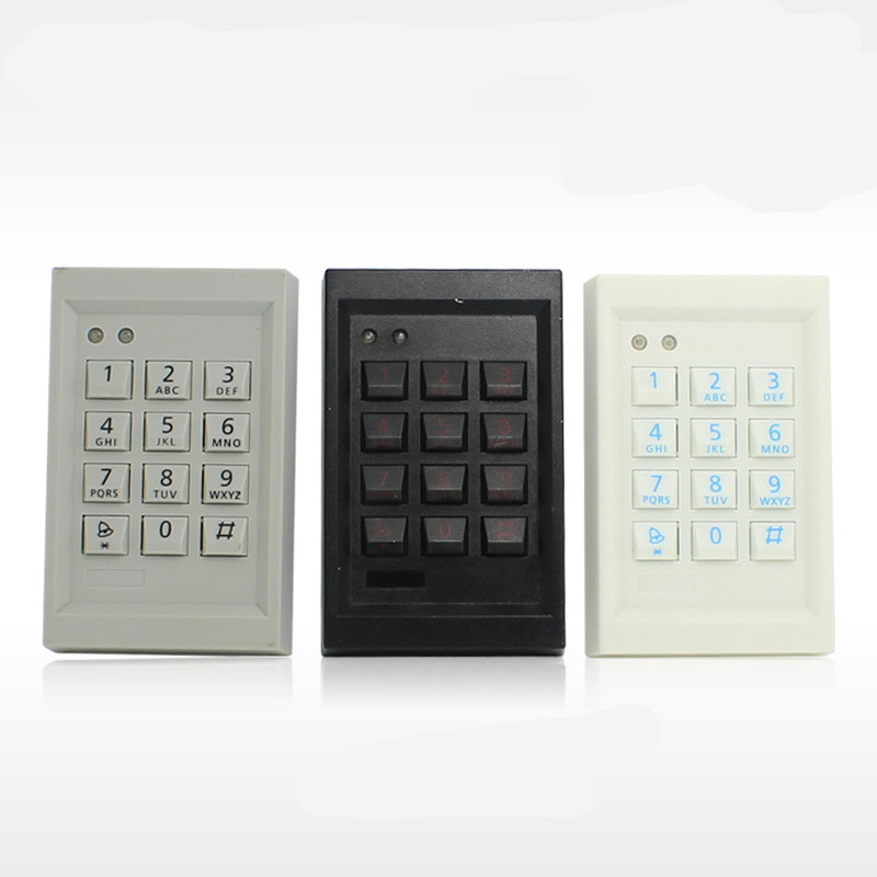 1000 User ID Card &Password  Door Access Control System 2 4 inch 500 user time attendance finger print password id card access control system