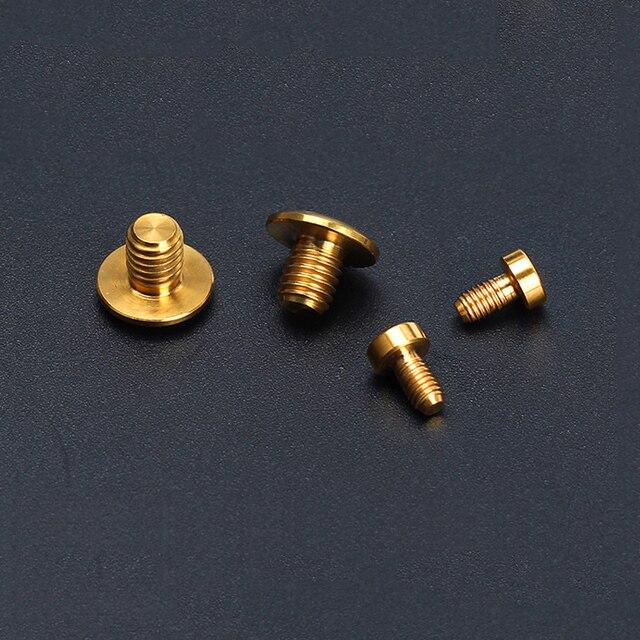Boulons hydrauliques de cylindre de frein de vélo de titane de vis de cylindre de frein de bicyclette du risque TC4 pour SHIMANO DEORE /XT M8000/SLX M7000