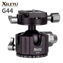 XILETU G 44 TOP Panorama 360 Graden Camera Statief Bal Hoofd 44MM Aluminium Balhoofd met Quick Release Plaat voor ARCA SWISS