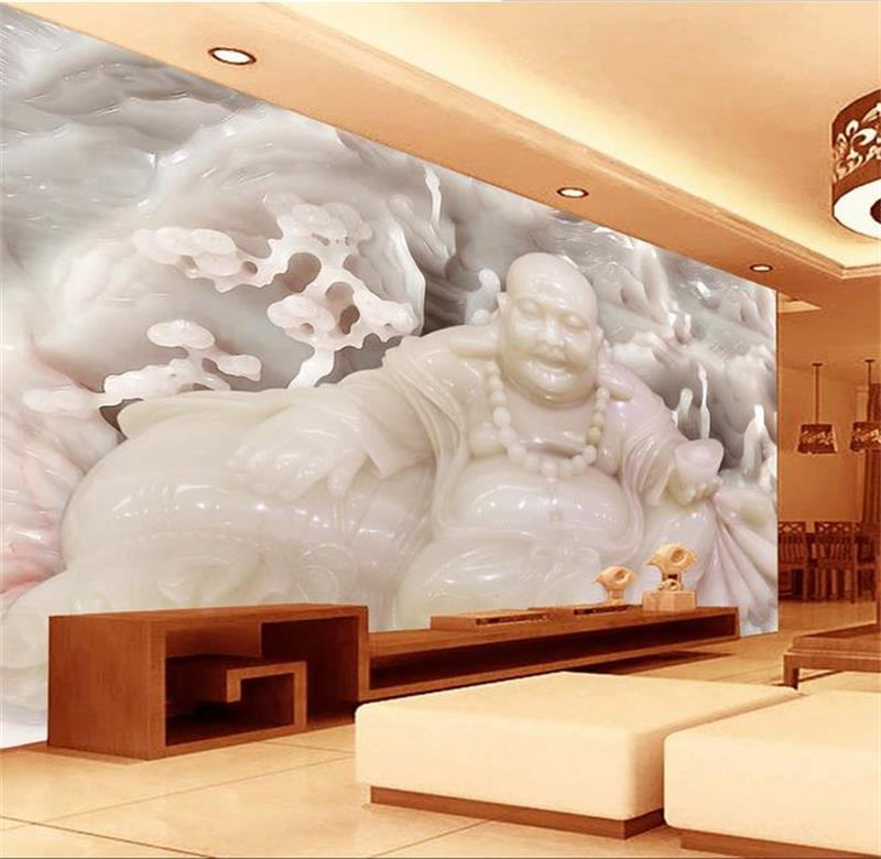 3d room wallpaper custom mural non-woven wall sticker fish Jade Buddha painting TV background wall photo wallpaper for walls 3d 3d room wallpaper custom mural non woven wall sticker 3 d fantasy green vine of roses painting photo wallpaper for walls 3d