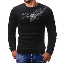 Laamei Sweater Men 2018 Autumn Winter Slim Fit Long Sleeve Jumper Men Pattern Knitted Solid Pullover O-Neck Pull Homme Sweaters(China)