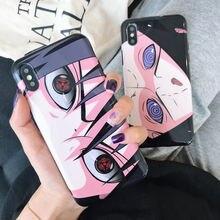Naruto Sasuke Sharingan Soft Silicon Cover for iphone