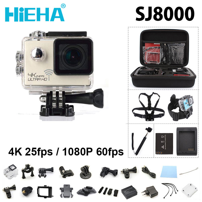 ФОТО HiEHA Sport Action Camera 1080P Full HD 96660 Extreme Voice Alert Sports Camera Go Waterproof Pro Camera Rotate 170 Angle