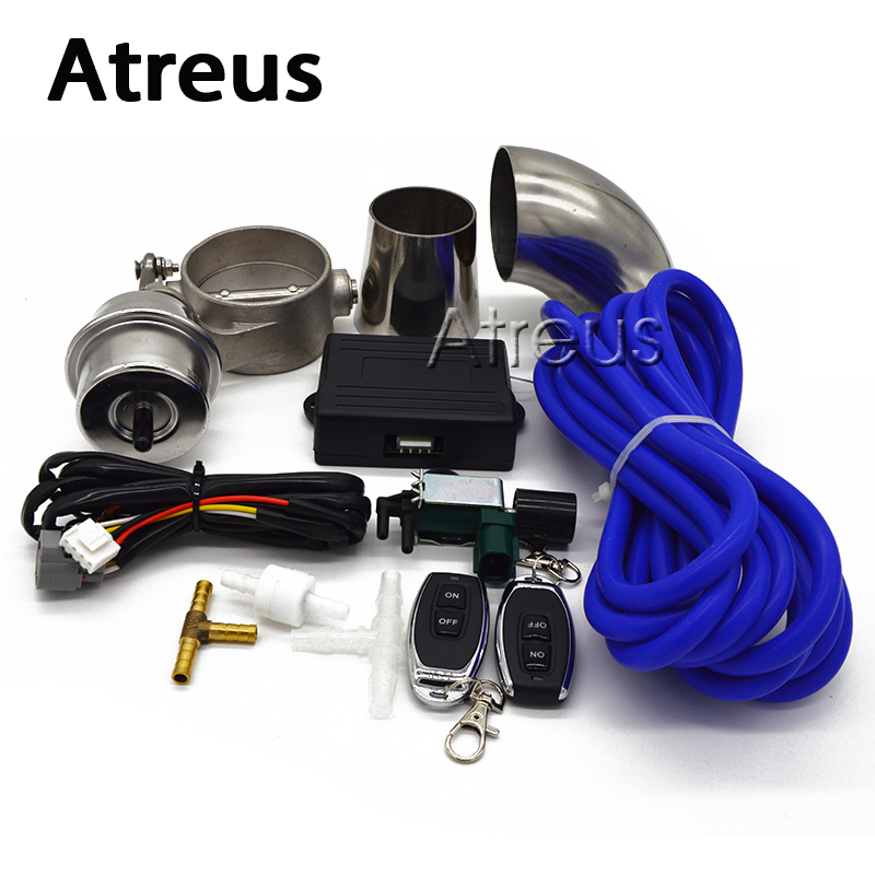 Atreus For Kia Mazda Opel Ford BMW Car Exhaust Control Valve Set Vacuum Actuator CUTOUT Automobiles exhaust pipe modification new oem egr vacuum solenoid valve for ford mazda mercury dpfe vs63 f57z9j459c