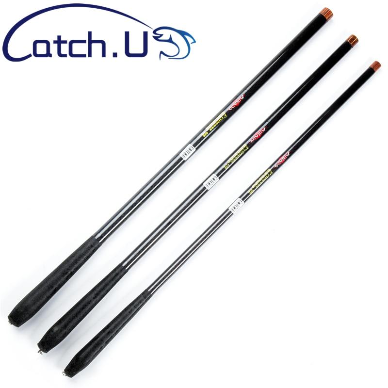 Catch.U 2.7M 3.6M 4.5M 5.4M 6.3M Carbon Fiber Fishing Rod Telescopic Hard Fishing Rod Telescopic Carbon Spinning Fishing Rods