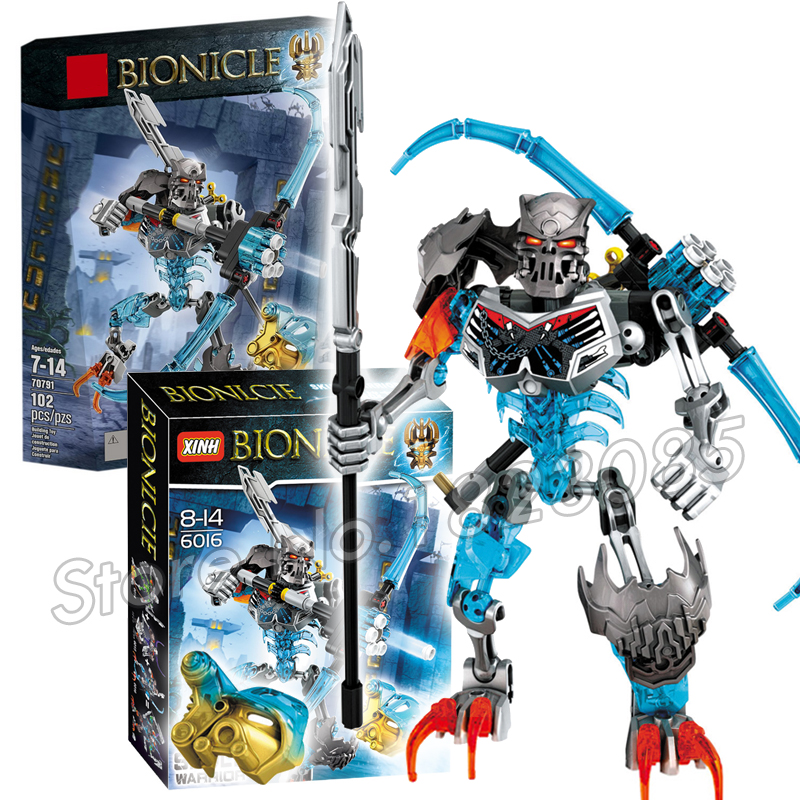102pcs Bela Bionicle Hero Tahu Skull Warrior Model Building Blocks Boys Kids Bricks Toys Compatible With Lego airsoft adults cs field game skeleton warrior skull paintball mask