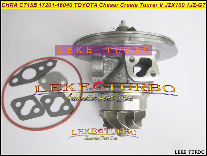 Turbo Cartridge CHRA CT15B 17201-46040 1720146040 For TOYOTA Chaser Cresta Tourer V Makr II JZX100 1JZ GTE 1JZ-GTE 1JZ GTE VVTI turbo cartridge chra kp39 54399880027 54399700027 8200204572 8200578315 for renault kangoo megane 2 scenic ii modus k9k thp 1 5l