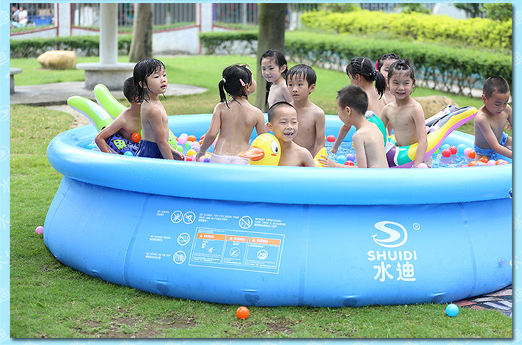 New Arrival Inflatable Swimming Pool Eco Friendly Mini Playground Large Size Above Ground Family Easy Set Aqua Piscina In Bouncers From