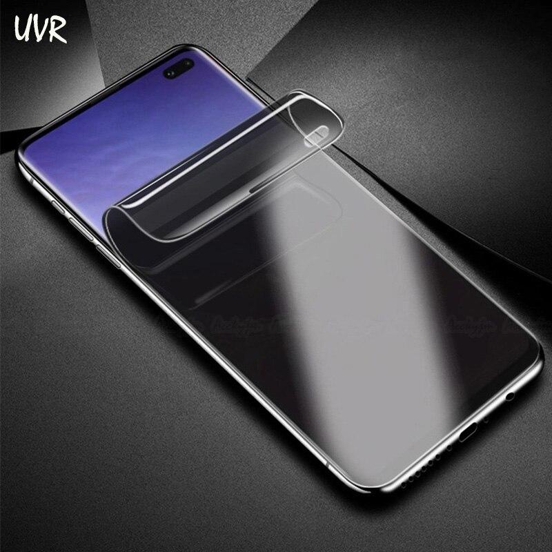 Uvr Anti Spy Privacy Hydrogel Film Voor Samsung Galaxy S10e S10 Plus 3d Volledige Cover Screen Protector S10plus Vingerafdruk Scanner Goed Verkopen Over De Hele Wereld