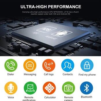 LEMFO KW18 Bluetooth smart watch full screen Support SIM TF Card Smartwatch Phone Heart Rate for apple gear s2 huawei xiaomi