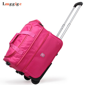 """High capacity Travel Suitcase Bag,Waterproof Oxford cloth Rolling Luggage,21""""23""""27"""" inch Trolley Case,Wheel Carry-On Dragbox"""