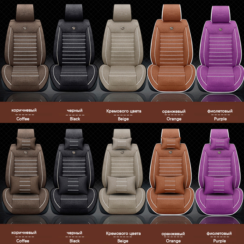 Prevleke za avtomobilske sedeže za Hyundai solaris ix35 i30 ix25 - Dodatki za notranjost avtomobila - Fotografija 2