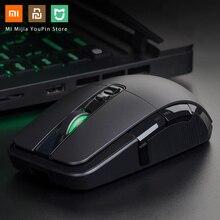 Original Xiaomi Drahtlose Maus Gaming USB 2,4 GHz 7200DPI RGB Hintergrundbeleuchtung Maus Gamer Optische Wiederaufladbare Computer