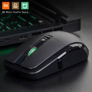 Image 1 - Oryginalna mysz bezprzewodowa Xiaomi USB 2.4GHz 7200DPI RGB podświetlenie mysz optyczna do komputera