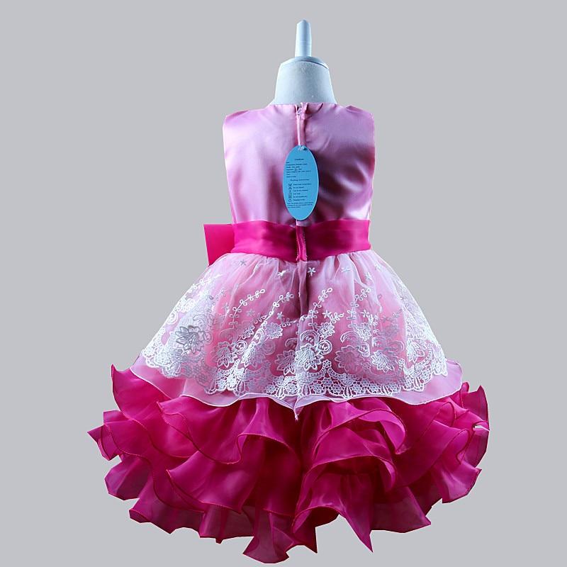 Pailletten Formale Abendkleid Blume Hochzeit Prinzessin Kleid - Kinderkleidung - Foto 5