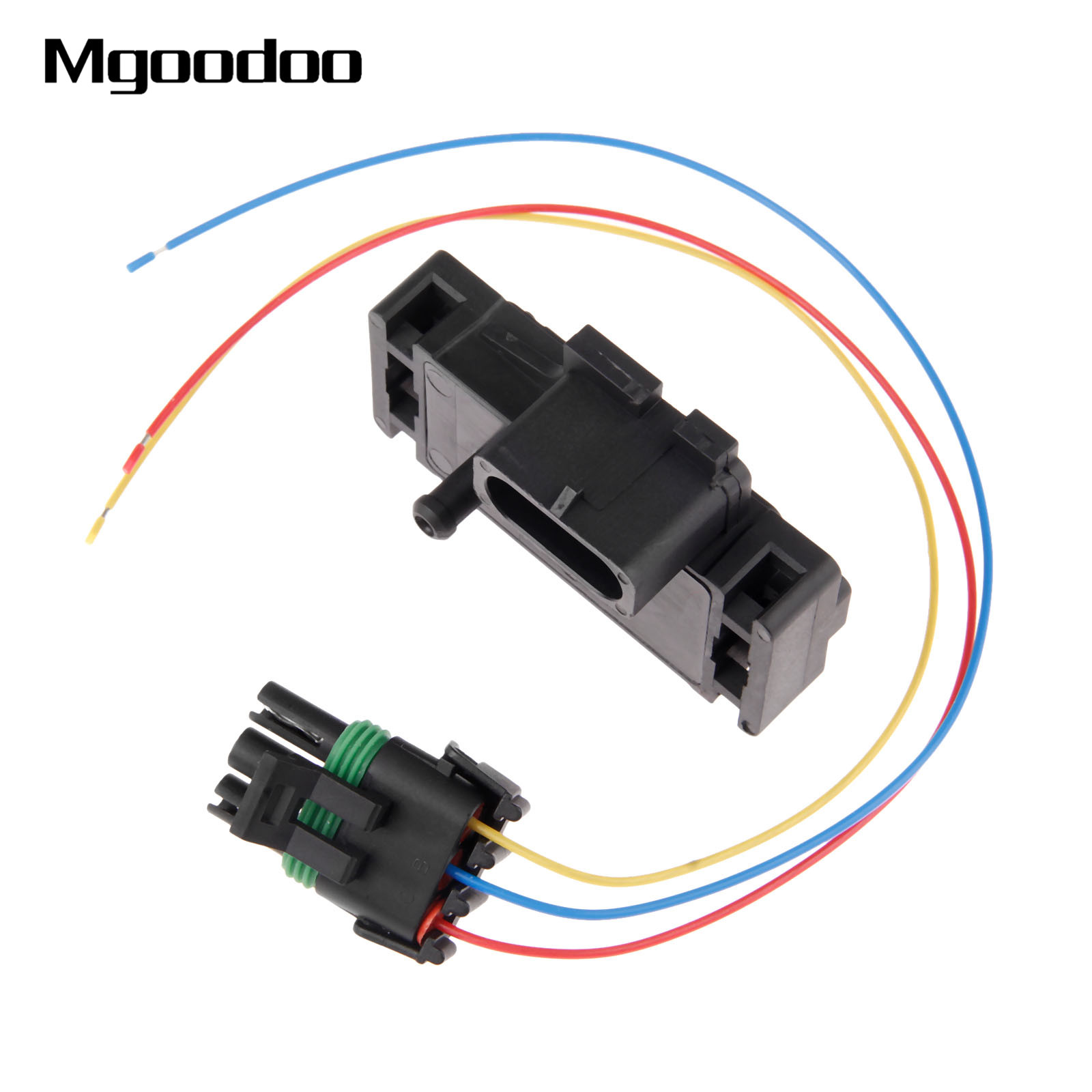 3 Bar MAP Sensor 12223861 ForGM Style Electromotive Motec Megasquirt Pigtail Connector Plug For Cadillac Chevrolet Pontiac Buick