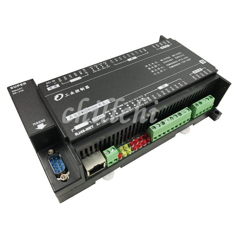 8 channel analog input 4 channel analog output 8 switch input 8 relay Ethernet IO module
