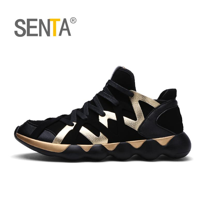 SENTA Men Running Shoes Breathable Outdoor Sportshoes Male Sport Sneakers Light Jogging Shoes For Adult Athletic Sneakers 39-44