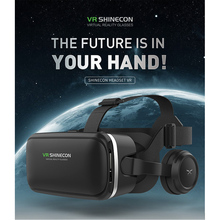 HL VR/AR Glasses 3D Glasses Vritual Reality Shinecon Headset VR Glasses universal 3D Box For iphone With Controller dec12