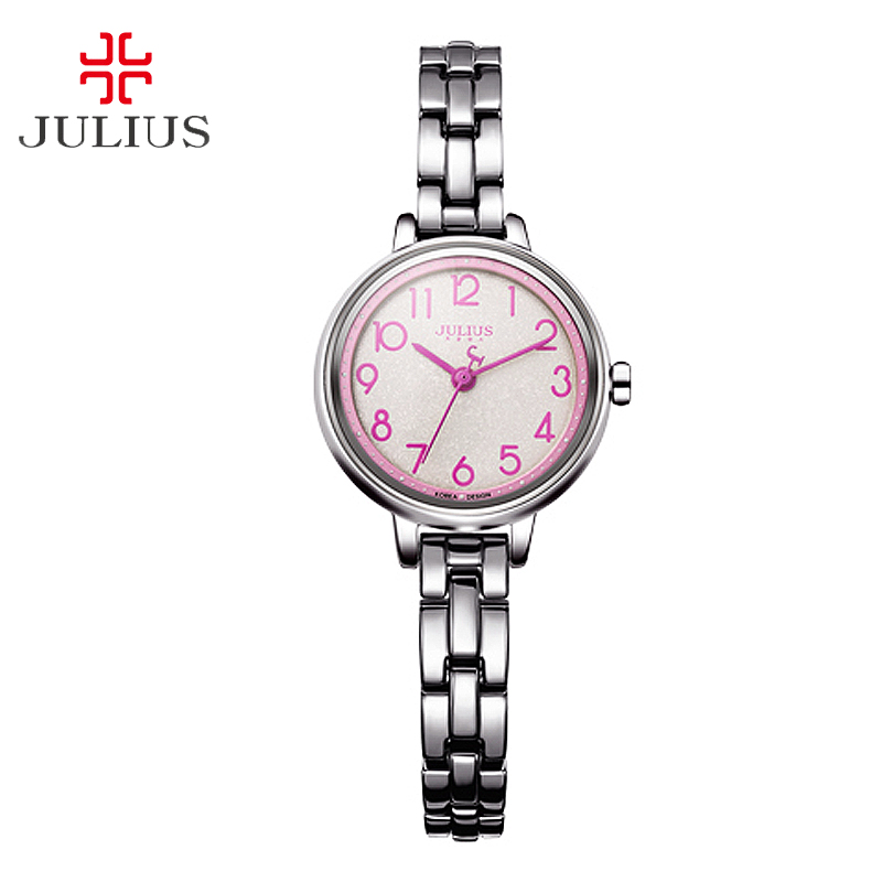 Top Women s Lady Wrist Watch Julius Japan Quartz Hours Best Fashion Dress Bracelet Simple Arabic
