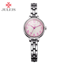Top Women's Lady Wrist Watch Julius Japan Quartz Hours Best Fashion Dress Bracelet Simple Arabic Numbers Girl Christmas Gift 879
