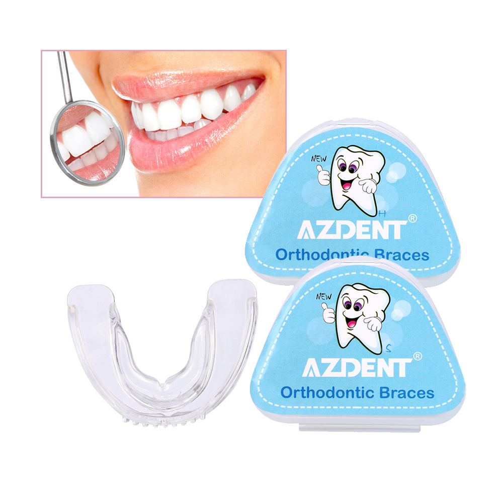 Orthodontic Braces Appliance Dental Braces Silicone Alignment Trainer Teeth Retainer Bruxism Mouth Duard Teeth Straightener