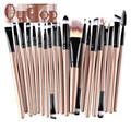 Graceful 20 pcs Makeup Brush Set tools Make-up Toiletry Kit Wool Make Up Brush Kits  JUN8