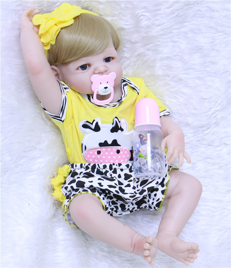 23 Full body silicone vinyl reborn Toy Lifelike modeling Real touch bebe alive infant dolls baby Child play house briquedos23 Full body silicone vinyl reborn Toy Lifelike modeling Real touch bebe alive infant dolls baby Child play house briquedos