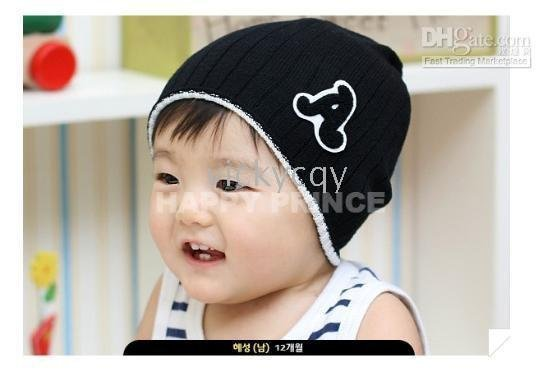 -HOT NEW CUTE Baby hats caps hats headgears infant cap hat kids Colorful line cap-CDM22A