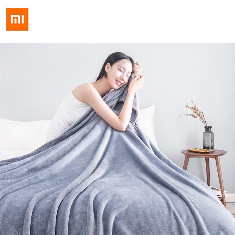 Original Xiaomi chaud antibactérien couverture flanelle antistatique multifonctionnel doux confortable 180 cm 200 cm pour le bureau à la maison-in Télécommande connectée from Electronique    1