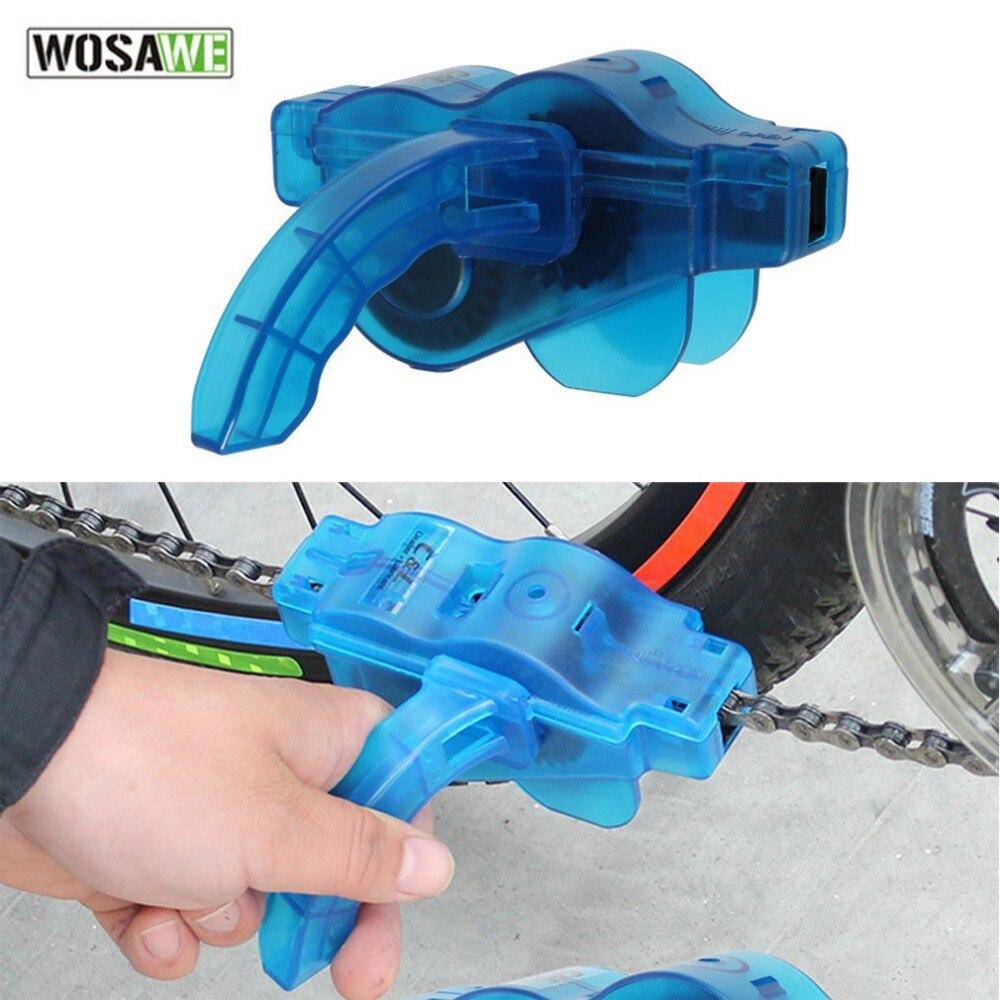 WOSAWE BT-067 Bicycle Chain Cleaner Bike Cycling Repair Tool Kits Cleaning Machine MTB Road Bike Wheel Washer