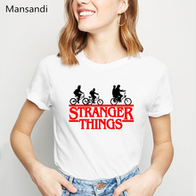 stranger things 3 t shirt graphic tees women clothes 2019 funny vogue tshirt femme harajuku summer tops female t-shirt