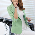 2016 Autumn new Womens Jackets Elegent Blazer Jeans Feminino Blazer Mujer Algodon Blazer Feminino Colorido Bleiser Mujer 2016 d2