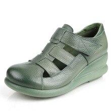 platform sandaletler Hakiki Ayakkabı