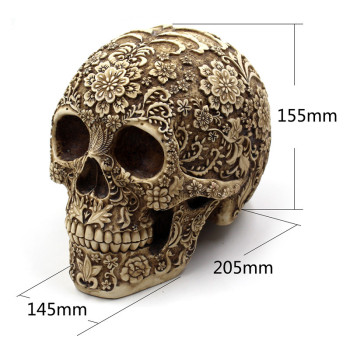 Creative Art Carving Skull Sculptures 1