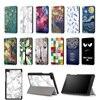 Fashion Painted Slim PU Stand Cover Case For Lenovo Tab 7 Essential TB 7304 TB 7304F