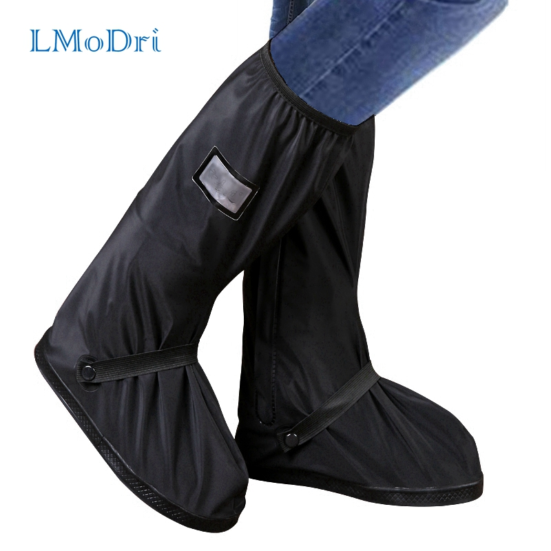 LMoDri Motorcycle Rain Shoes Covers Waterproof Bicycle Thicker Scooter Nonslip Boot Overshoes Rainproof Shoe Cover Boot ReusableLMoDri Motorcycle Rain Shoes Covers Waterproof Bicycle Thicker Scooter Nonslip Boot Overshoes Rainproof Shoe Cover Boot Reusable