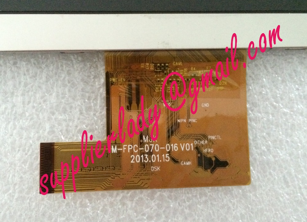 Original and New 7inch LCD screen M-FPC-070-016 V01 for tablet pc free shipping 7 inch for l070hl02 l070hl02 tablet fpc