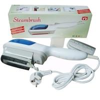 Novo 220 v 110 v útil prático família handheld escova de vapor tecido ferro lavanderia a vapor roupas escova elétrica