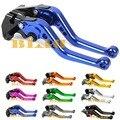 10 Colors For Vespa PX80-200/PE/Lusso 160GS Hot Sale Motorcycle Adjustable Short Levers Brake Clutch Levers CNC Aluminum Levers