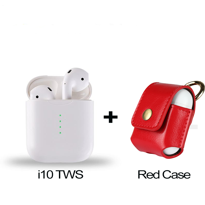 i10 tws and red case
