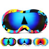 Double deck Ski Goggles For Children, Anti fogging Goggles For Boys And Girls, Large Spherical Goggles, Coca Myopia