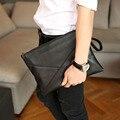Men's PU Leather Cross Body Messenger Shoulder Pack Documents Business Portable Clutch Bag Handbag Portable Wrist Bag Handbags