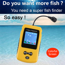 Free Shipping Hot Sale Alarm Brand New 100M Portable font b Sonar b font Colorful LCD